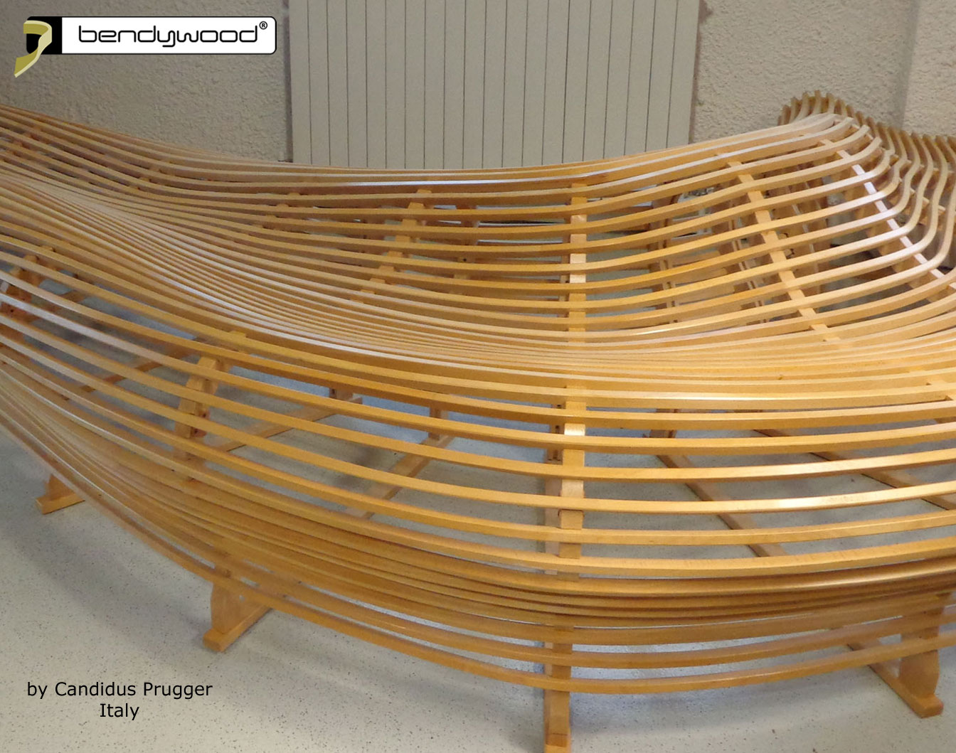 Bending wood Bendywood® - bench