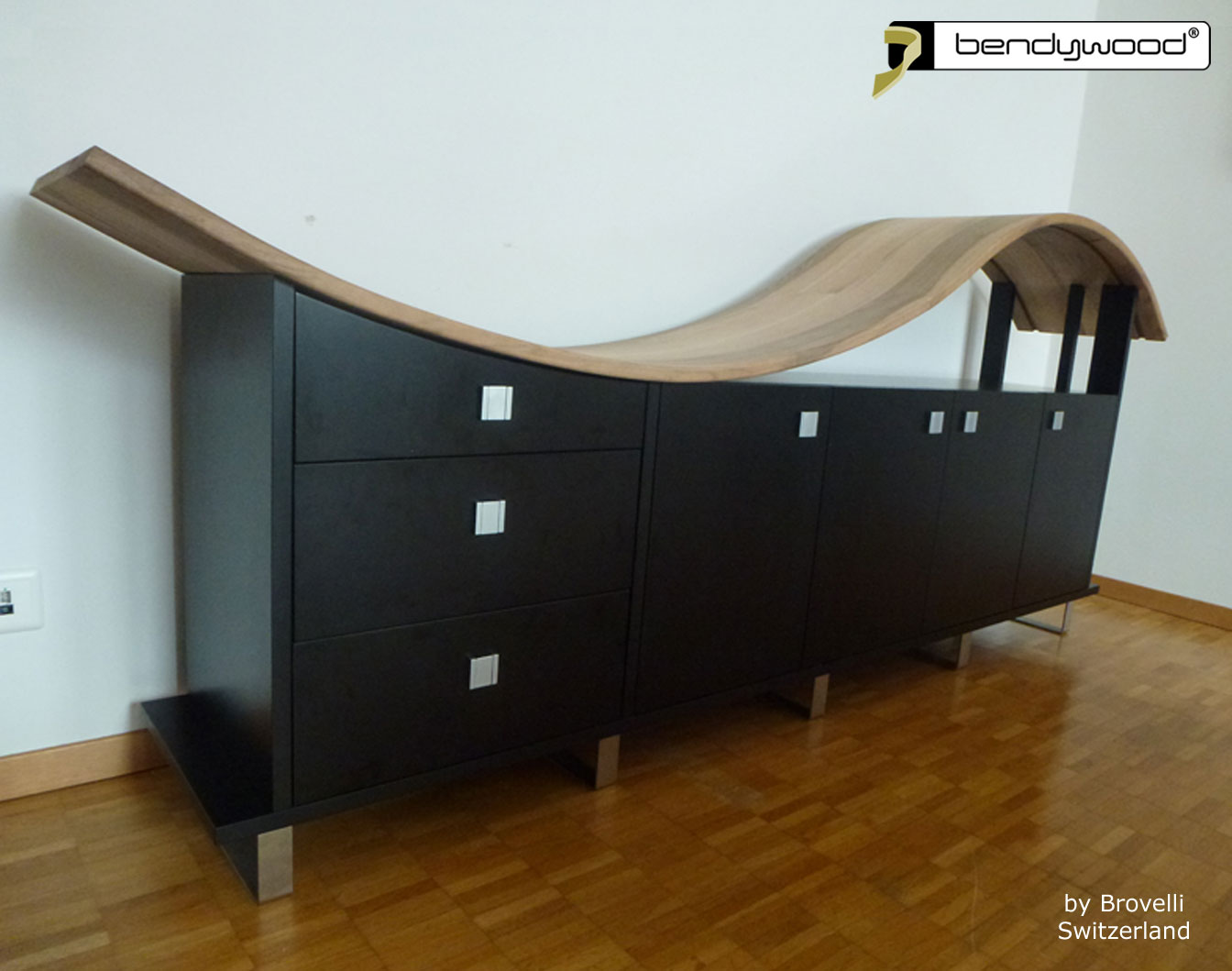 Bending wood Bendywood® - sideboard