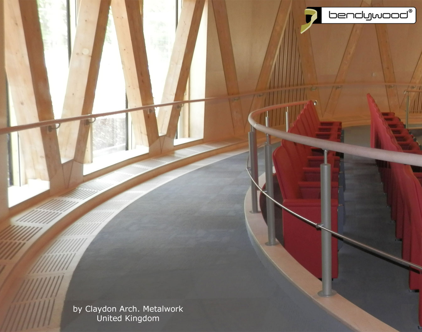 Bending wood Bendywood® - round bending handrails