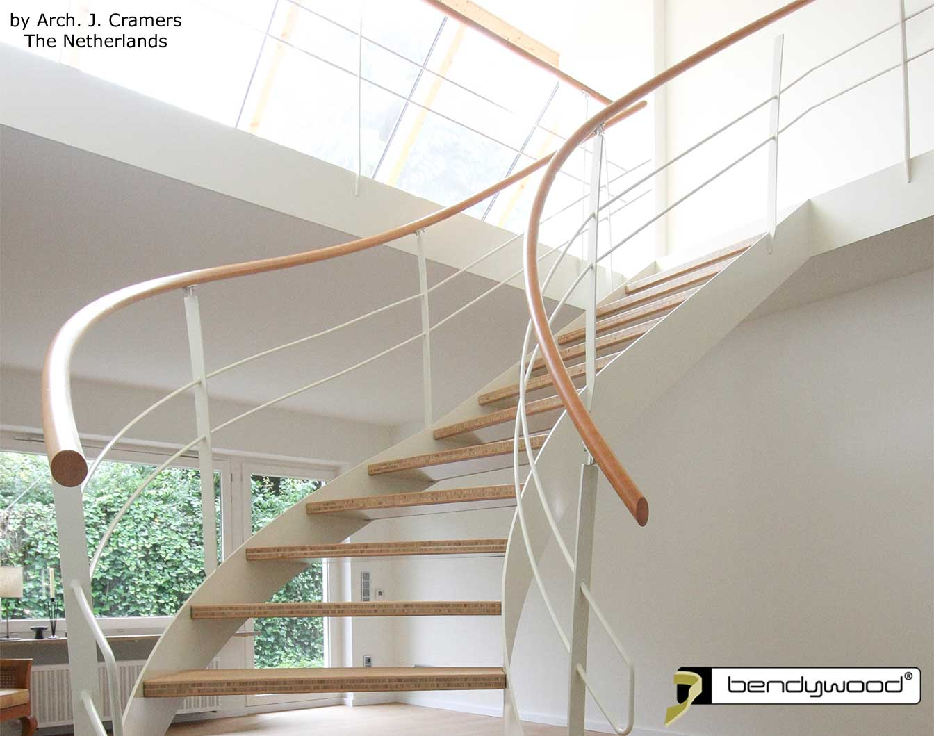 Bendable wood Bendywood® - handrails